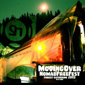FallMonke live mix @ MovingOverNomadFreeFest'13