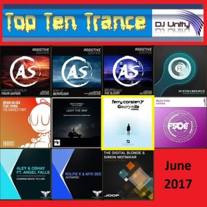 Top Ten Trance June 2017