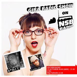 GIRA RADIO SHOW on NSB RADIO, 29 OCTOBER