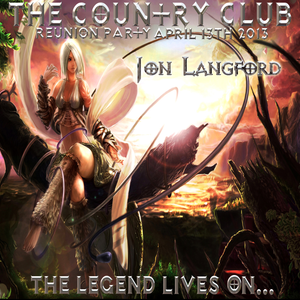 Jon Langford live @ The Country Club - The Legend Lives On...2013