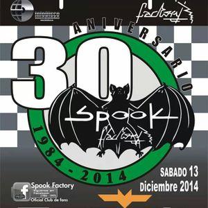 FRASH DEEPER sesión 30 aniversario Spook Factory (terraza 2:20 a 3:10 horas)