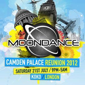 Dj Redlock Presents Moondance Camden Palace Reunion Mix 2012