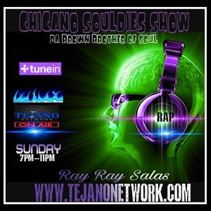 TEJANO NETWORK SUNDAY SOULDIES SHOW 7-9-2017