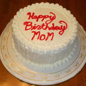 Happy birthday, Mom!