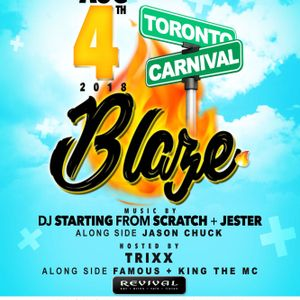 DJ STARTING FROM SCRATCH & JESTER - BLAZE CARIBANA MIX