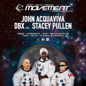 John Acquaviva live at Movement Detroit Launch Party @Populux Club