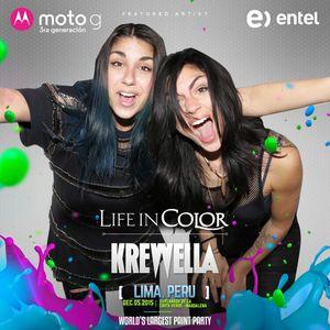 Krewella @ Life In Color Lima (2015.12.05)
