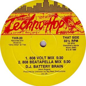 8 Volt Mix, DJ Battery Brain, 1988