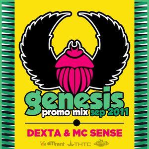 Genesis Nights Promo Mix - September 2011 - Dexta & MC Sense