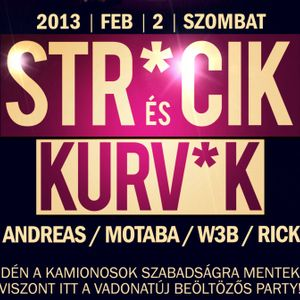 Motaba B2B W3B Live@Club Wave (2013.02.02.)