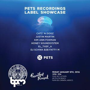 Dj Schwa b2b Fatty M - Live at Pets Recordings, Canibal Royal Beach Club, BPM Festival (08-01-2016)
