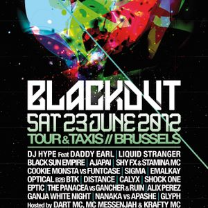 BLACKOUT 2012 - DUBSTEP STAGE PROMO MIX BY NANAKA & APASHE