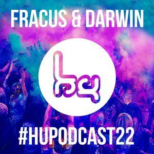 Fracus & Darwin @ The Hardcore Underground Show (Podcast 22) (01-04-2018)