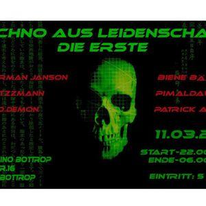 PIMALDAUMEN (Rhein) @ Techno aus Leidenschaft / 11/03/17 *Altes Kino-Bottrop