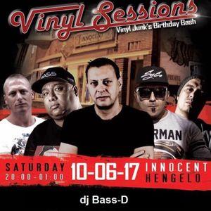 dj Bass-D // Eastside Vinyl Sessions #4 // 10th June '17 // Innocent // Hengelo