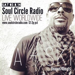 SCR Presents DJ A-Ski DJ Set + Interview