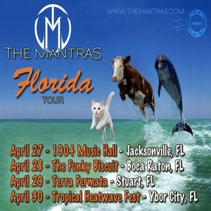 The Mantras - Full Set - The Funky Biscuit - Boca Raton, FL - 2016-4-28