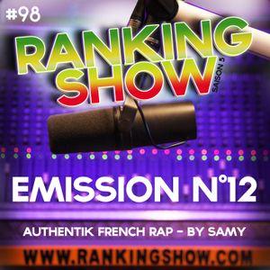 Ranking Show N°12 - Authentik French Rap - By Samy