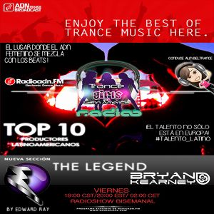 #TheLegend Bryan Kearney By Edward Ray in Trance Girls RADIO