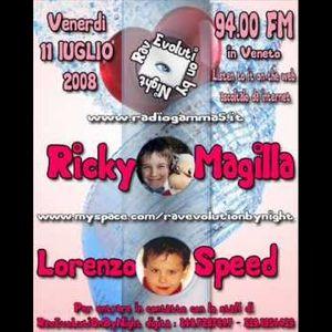 LORENZOSPEED presents RavEvoLutiOnByNight Venerdi 11 Luglio 2008 dedicated to Federica Squarise rip