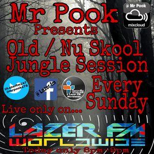 Nu Skool Junglist Session - Mr Pook - Lazer FM - 9th July 2017