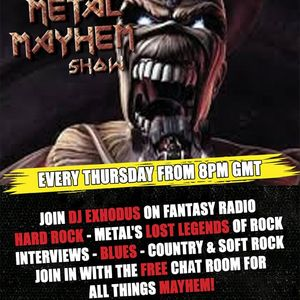 Metal Mayhem With DJ Exhodus - December 05 2019 http://fantasyradio.stream