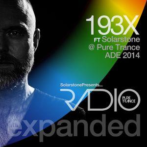 Solarstone presents Pure Trance Radio Episode 193X