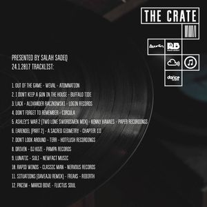 The Crate with Salah Sadeq 24.1.2017