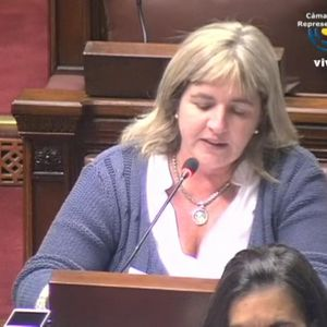 diputada nacionalista Magdalena Zumarán, alienación parental
