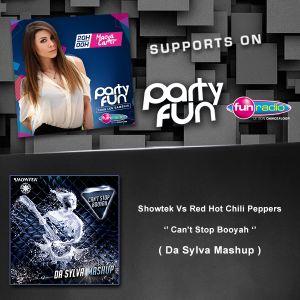 Maeva Carter Supports Da Sylva mashup ''Can't Stop Booyah'' on Fun Radio