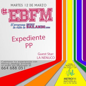 #EBFM 1x22: Espacio publicitario patrocinado por la Nenuco 23/03/16
