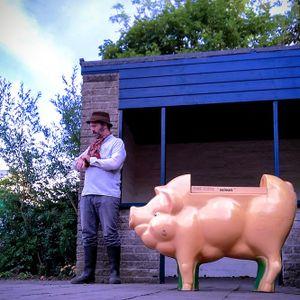 Bob Follen - Pink Floyd 'Oink' exhibition in Halifax, West Yorkshire