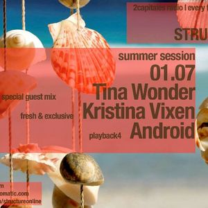 Structure Radio Show 022 (2Capitales Radio, Paris) fresh/exclusive by Kristina Vixen (01.07.2011)