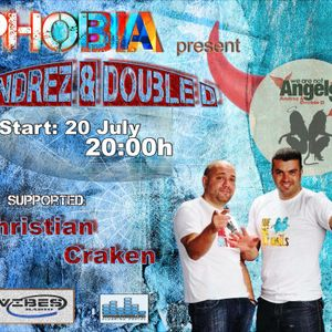 Andrez & Double D - PHOBIA 009 Guest Mix @ Vibes Radio Station  20 July 2011