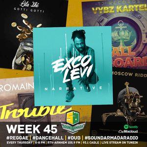 Sound Armada Reggae Dancehall Radio Week 45 - 2017
