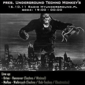Freak - Sound Research pres. Underground Techno Monkey's @ Myunderground.pl Radio Show