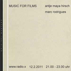 Music For Films - Radio X - Februar 2011 - Part 1