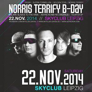 Rexus vs. DJ Drops @ ASYNCRON Stage - Norris Terrify B-Day - Sky Club Leipzig 26-11-2014