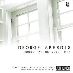 George Apergis_2011_House Nation volume 1_ vinyl Mix
