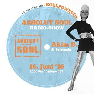 Absolut Soul Show /// 16.6.2016 on SOULPOWERfm