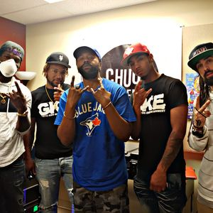 Majic Mike Interviews with local hiphop reggae group G.K.E