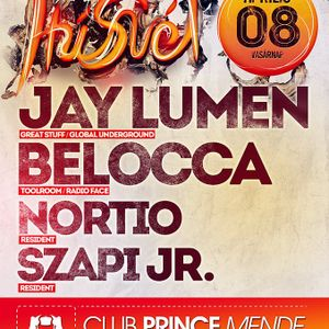 Jay Lumen - Live @ Club Prince Mende Húsvéti Party 2012.04.08.