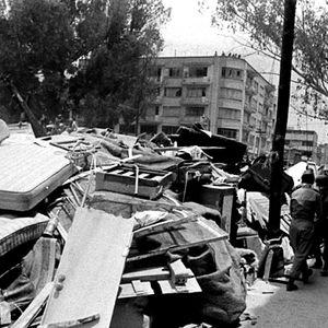 Detalles del terrible terremoto, 1957