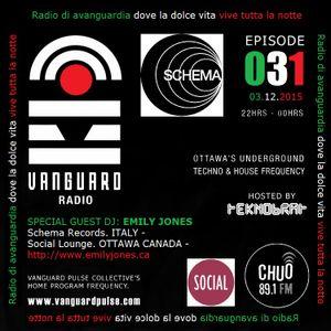 VANGUARD RADIO Episode 031 with TEKNOBRAT - 2016-12-03rd CHUO 89.1 FM Ottawa, CANADA