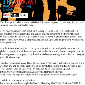 The illicit Grooves radio Show broadcast on 07 10 17 on www