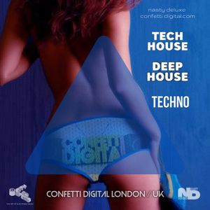Funk'n Deep Mix - Confetti Digital London - Mixed by Nasty Deluxe