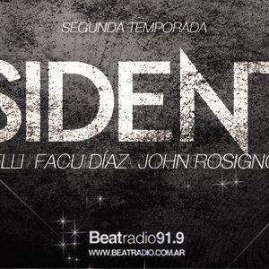 Residentes @ Beat Radio 17/10 Hugo Ortiz