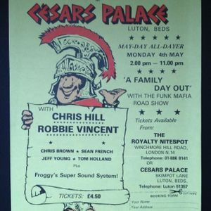Cesars Palace Alldayer Monday 4th May 1981 Chris Hill & Robbie Vincent & The Family Part 3