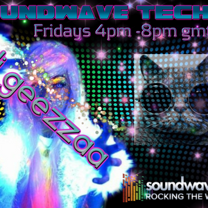Soundwave afternoon techno show hosted by Dj Geezzaa