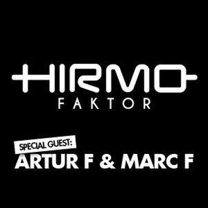 Hirmo Faktor @ Radio Sky Plus 24-04-2015 - special guest: Artur F & Marc F